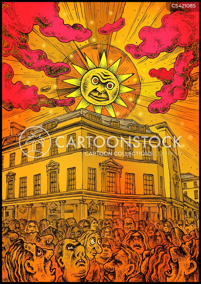 sun-set cartoon