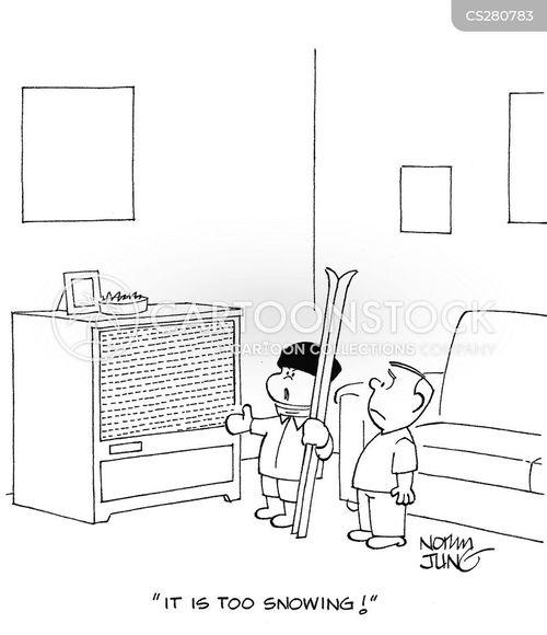 fuzzy screens cartoon