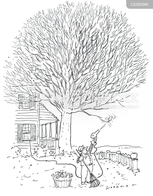 autumn time cartoon