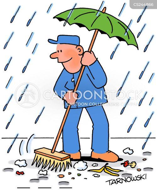 street sweeper cartoon