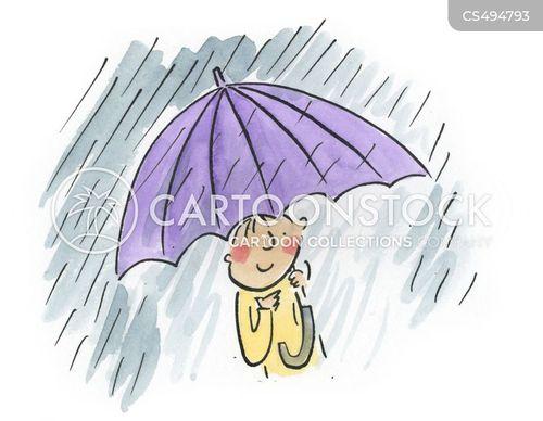 rain-shower cartoon