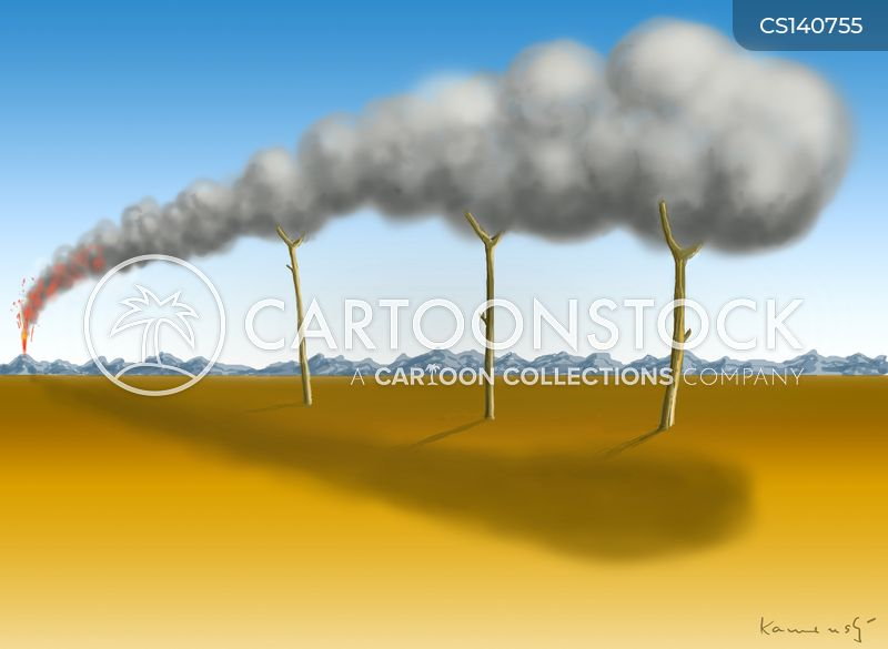 ash cloud cartoon