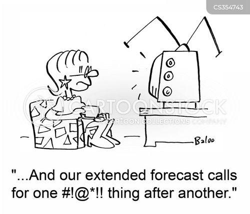 extended forecast cartoon