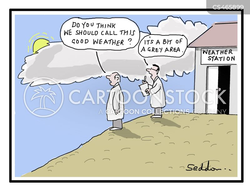 weather stations cartoon