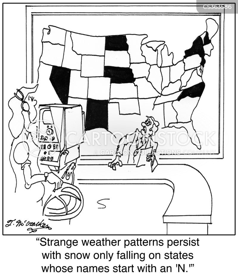 extreme weather pattern cartoon