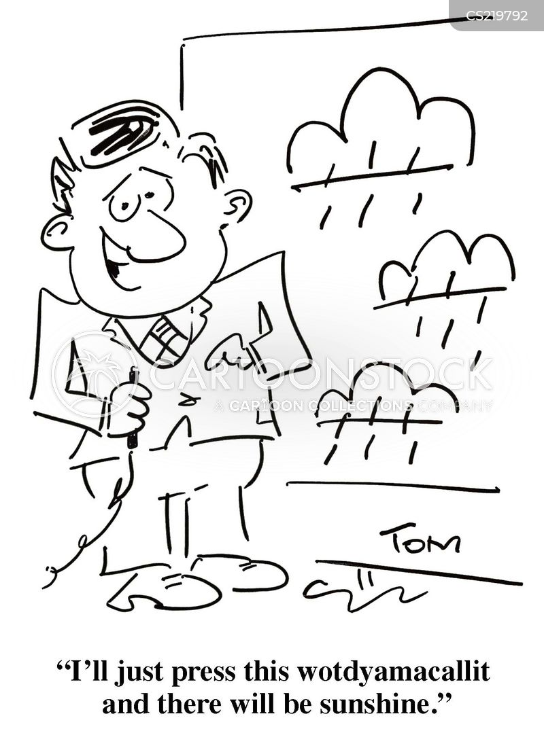 tv weather cartoon