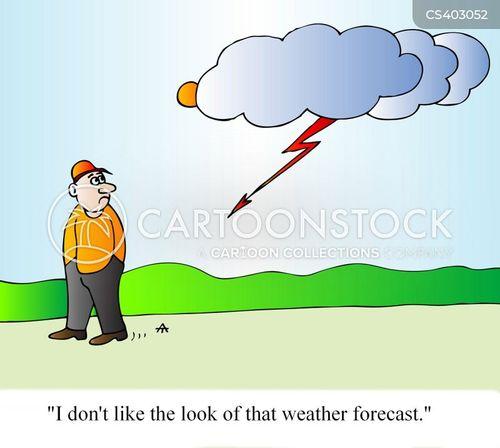 weather men cartoon