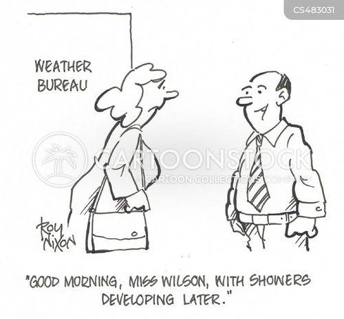 weather bureau cartoon