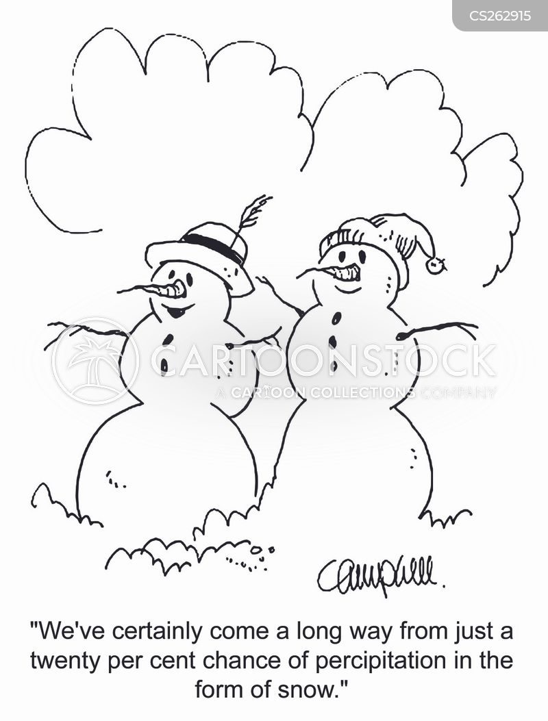 Pictures of Weather Reports Weather Reporters Cartoon 9 of
