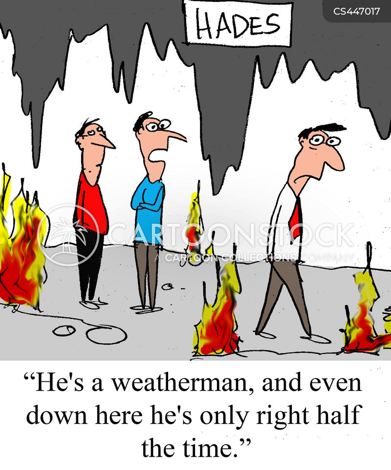 forecasting cartoon
