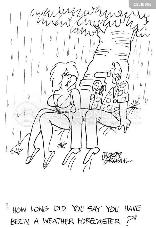 downpours cartoon