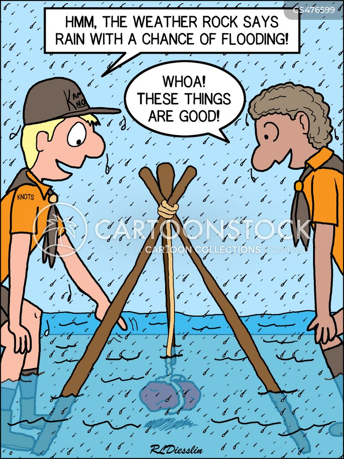 camp-site cartoon