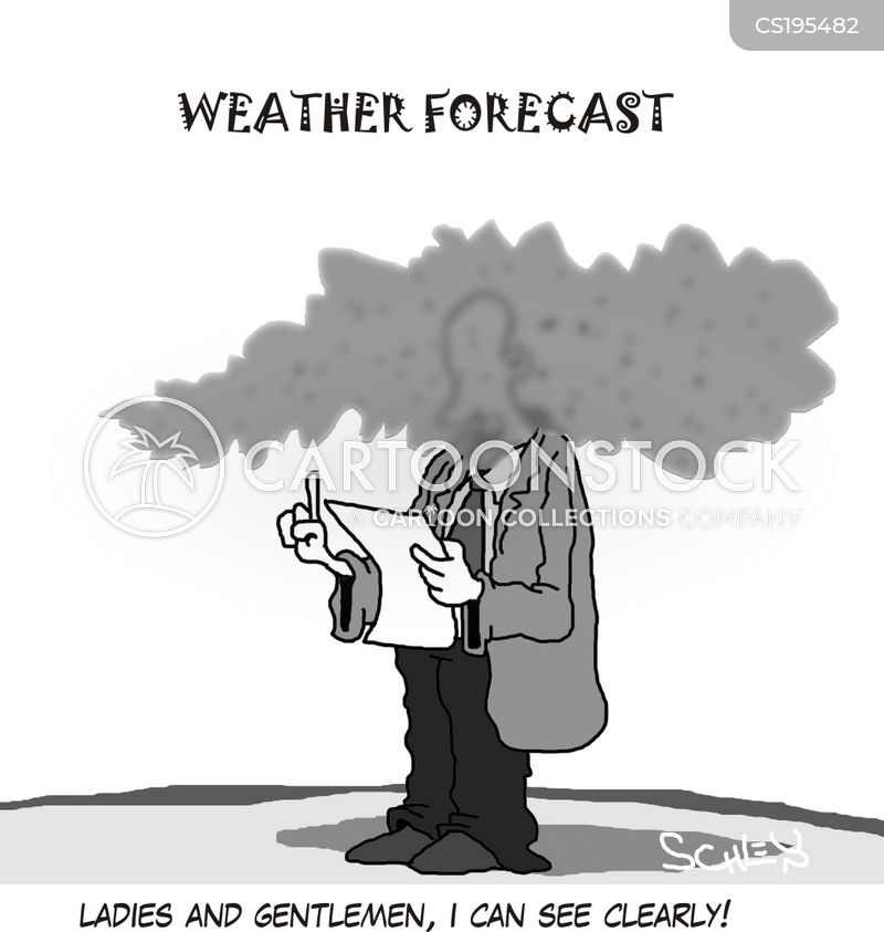 Pictures of Weather Reports Weather Reporter Cartoon 3 of