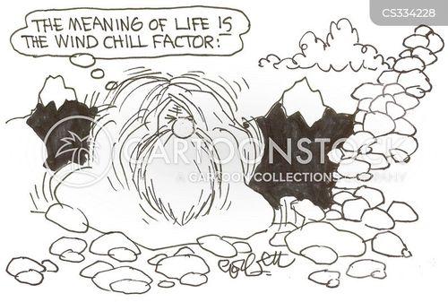 wind chills cartoon
