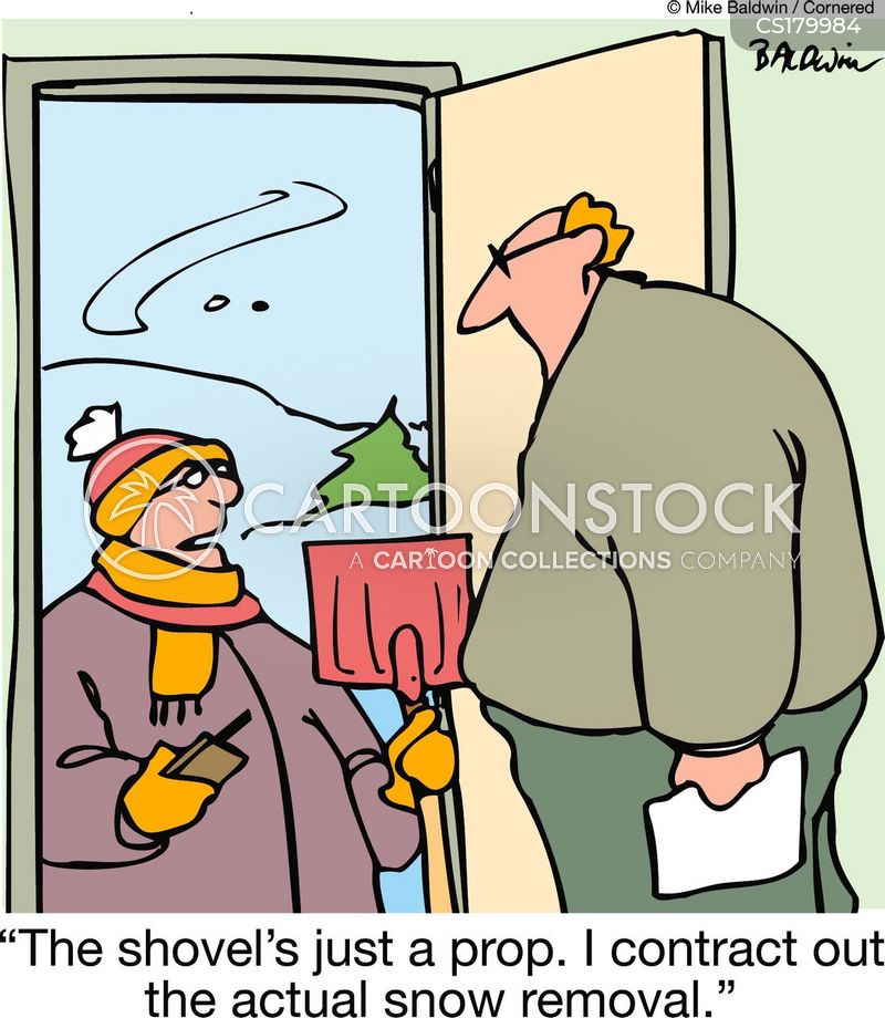 shovels cartoon