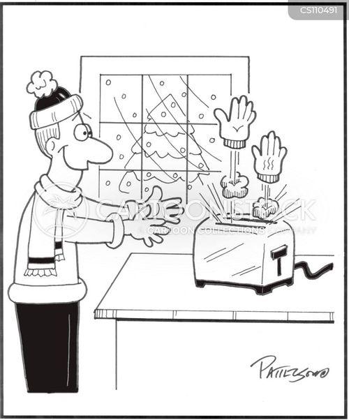 warm-up cartoon