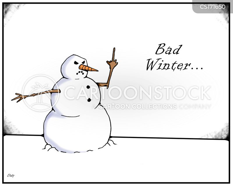 snow man cartoon