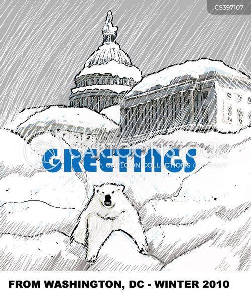 blizzard conditions cartoon