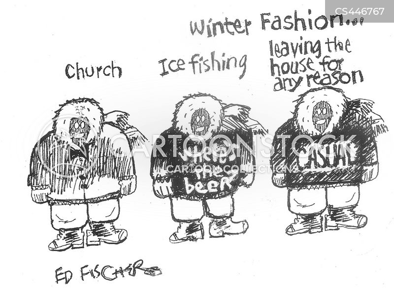parkas cartoon