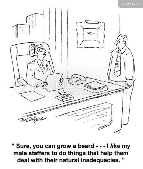 bearded cartoon