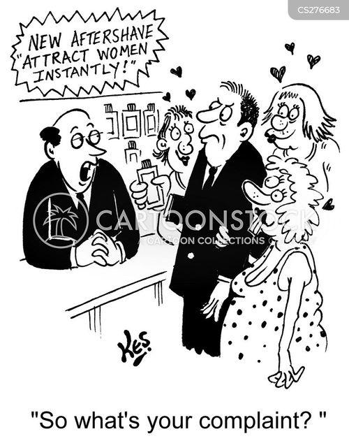 lotions cartoon