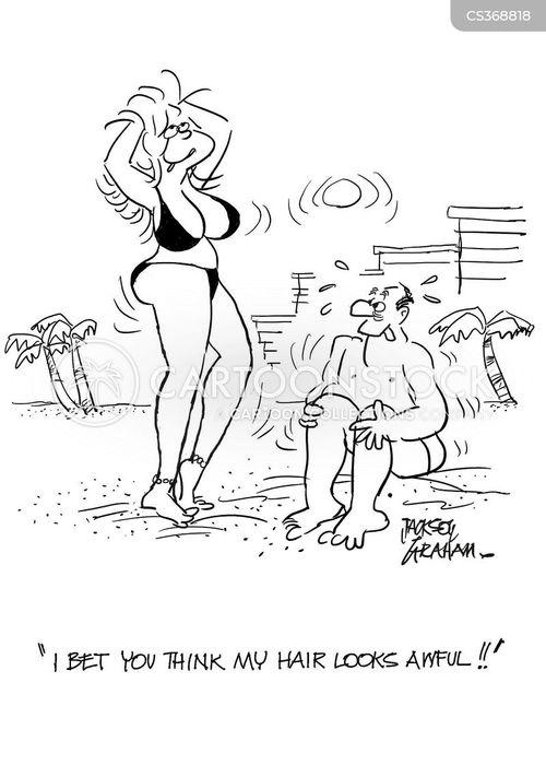 Bikini cartoon babe