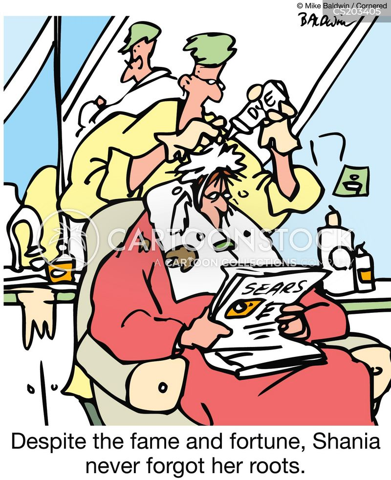 fame and fortune cartoon