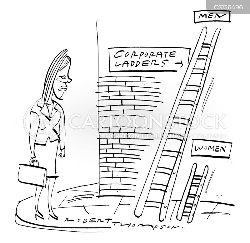 career ladders cartoon