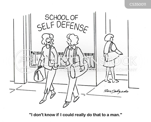 defends cartoon