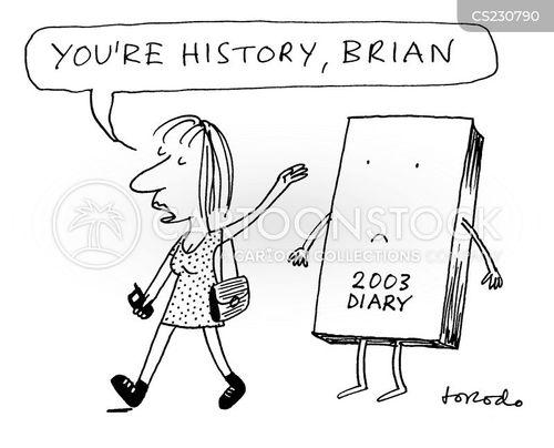 organizes cartoon