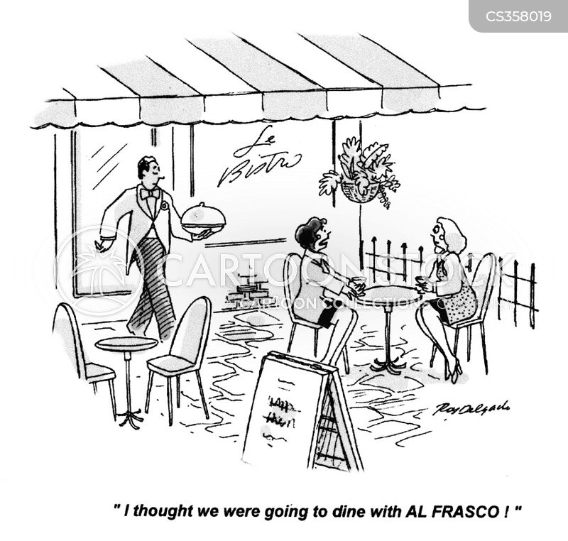 al fresco cartoon