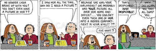 relationship breakdowns cartoon
