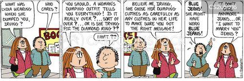 unhelpful advice cartoon