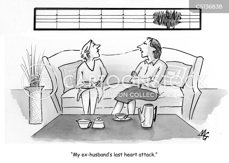 haeart disease cartoon