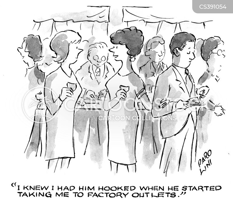 factory outlets cartoon