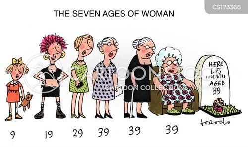 feminine cartoon