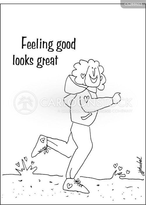 feel good cartoon