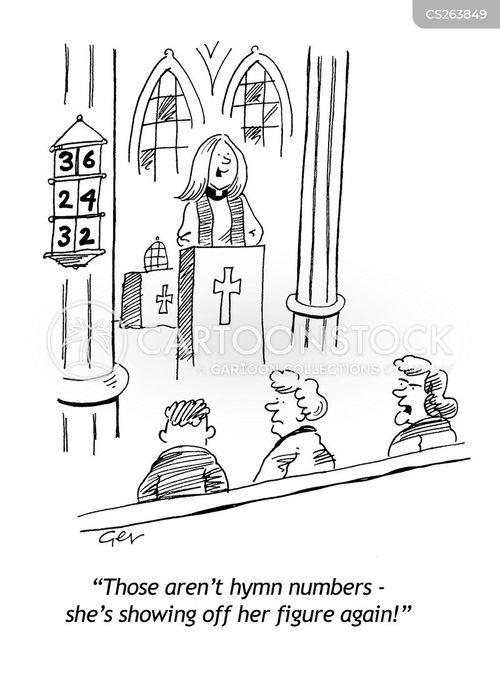 hymns cartoon