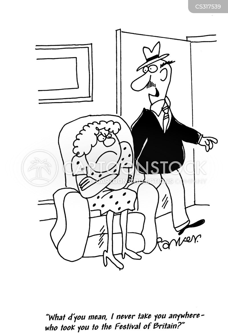 staying at home cartoon