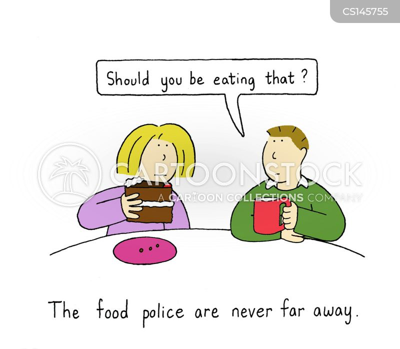 Food Police Cartoons and Comics - funny pictures from ...