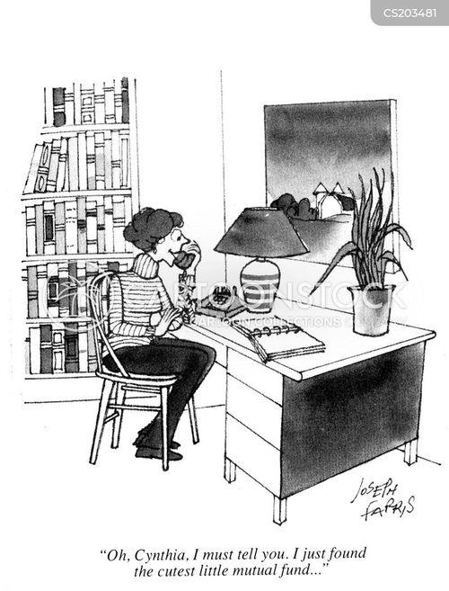 share portfolio cartoon