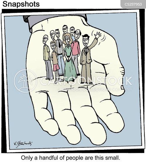 handful cartoon