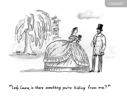 crinoline cartoon