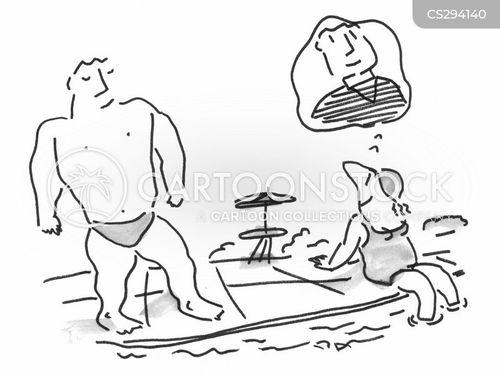 hunks cartoon
