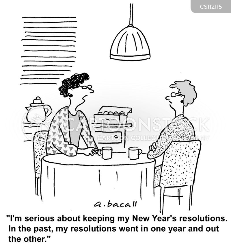 New Year\'s Cartoons and Comics - funny pictures from CartoonStock