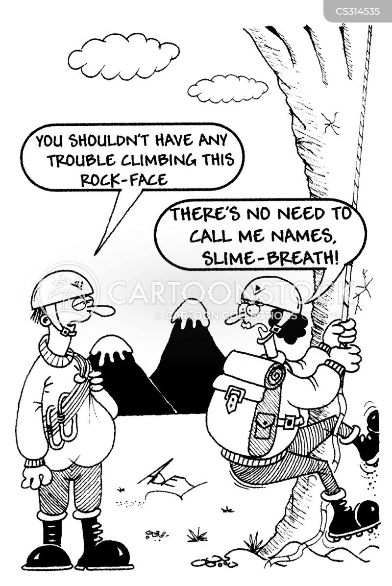 name-calling cartoon
