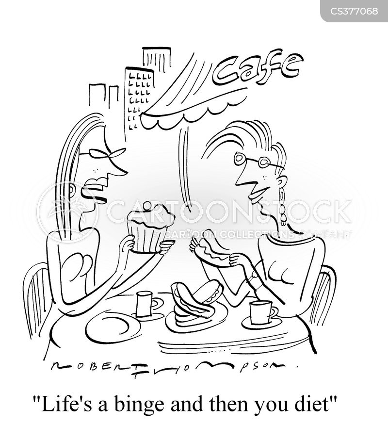 fattening cartoon