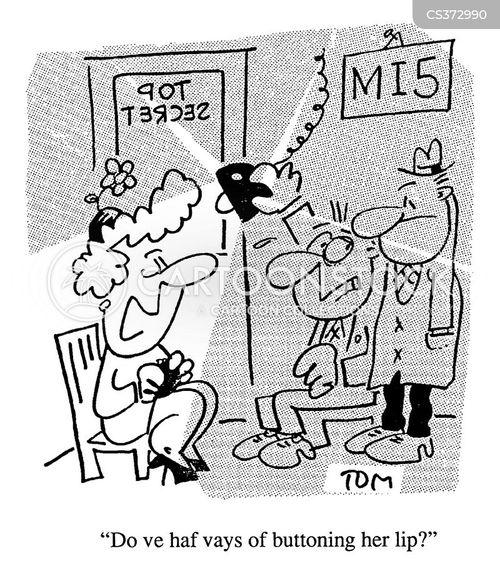 state secret cartoon
