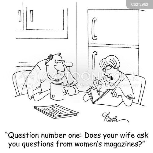 asking questions cartoon