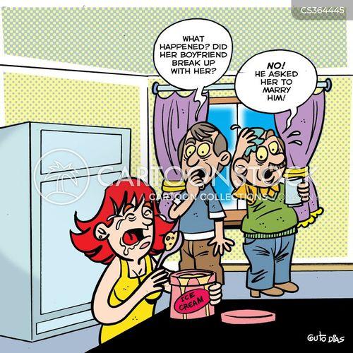 female mind cartoon